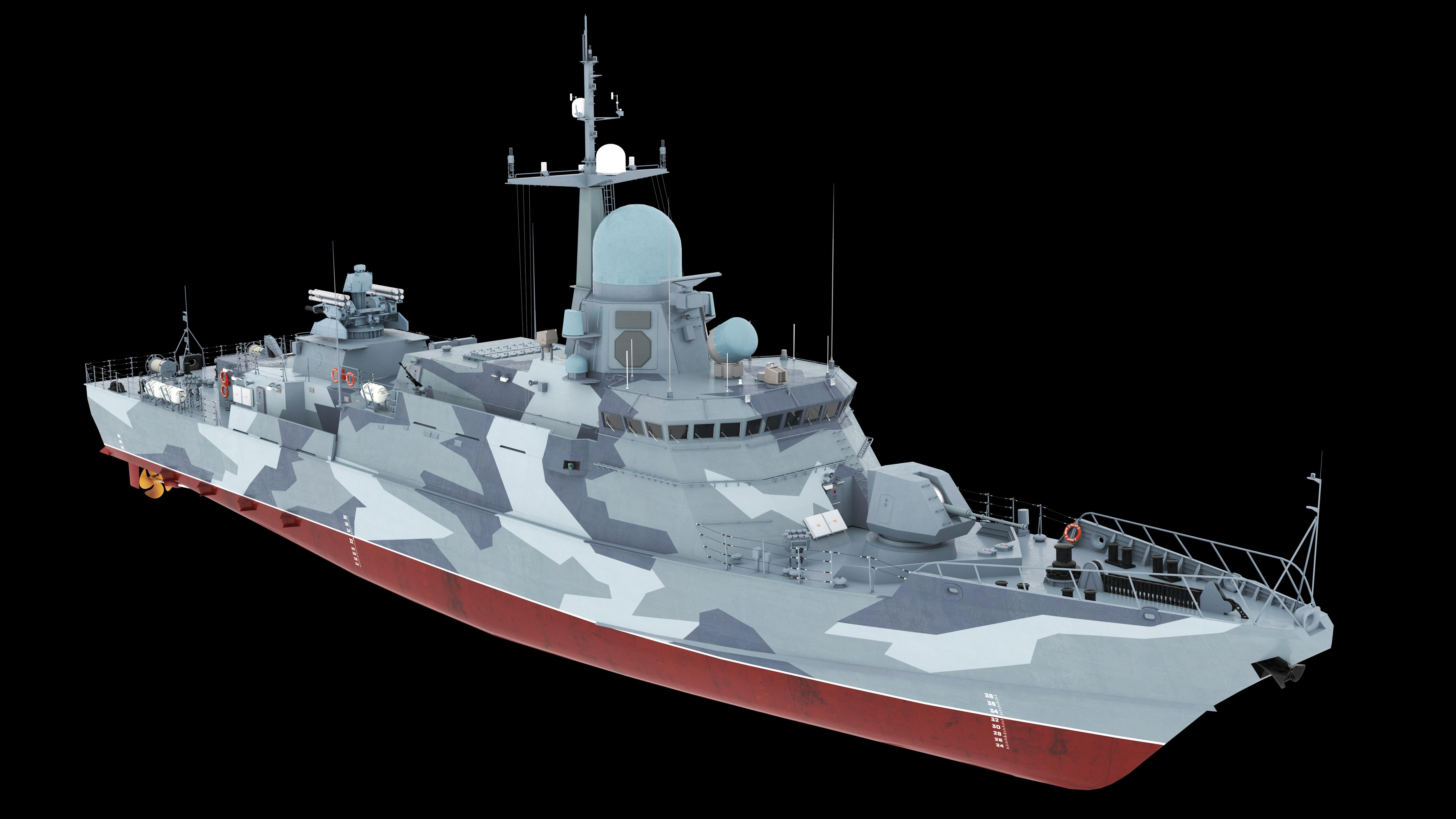 "Project 22800: ""Karakurt"" Class Missile Ship"