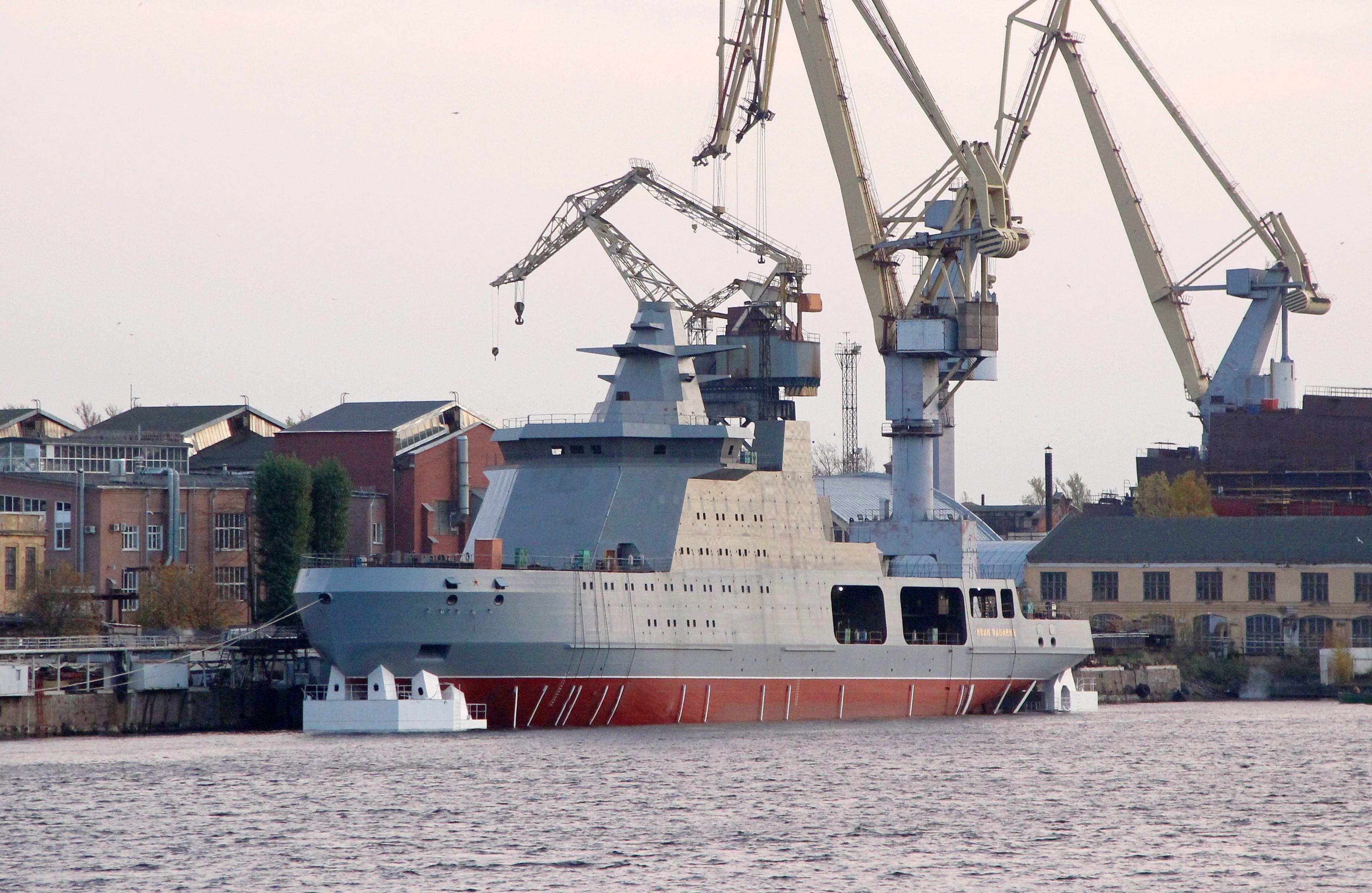 Project 23550 Arctic patrol ship 25-7986485-23550-ivan-papanin-admiraltejskie-verfi-25.10.2019